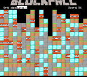 Hra - Minecraft Block Fall