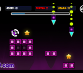 Hra - Geometry Neon Dash World 2