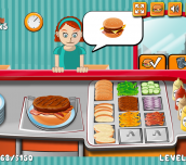 Hra - Burger Time Game