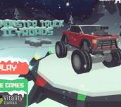 Hra - 3D Monster truck Icyroads