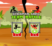 Hra - Stickman Army Team Battle