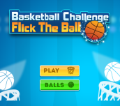 Hra - Basket Ball Challenge Flick The Ball