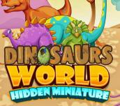 Hra - Dinosaurs Wolrd Hidden Miniature