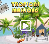 Hra - Tropical Mahjong