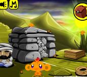 Hra - Monkey Go Happy Stage 195
