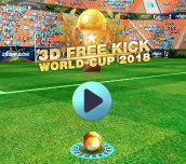 Hra - 3D Free Kick World Cup 2018