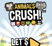 Hra - Animals Crush Match