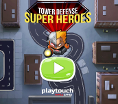 Hra - Tower Defense Super Heroes