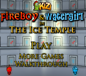 Hra - Fireboy And Watergirl 3 Ice Temple