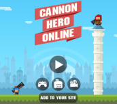 Hra - Cannon Hero Online