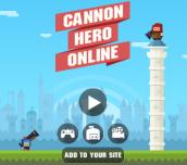 Hra - Cannon Hero Online