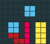 Hra - Raketka - Tetris