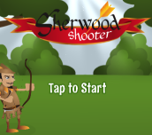 Hra - Sherwood Shooter Html5