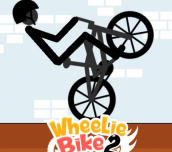 Hra - Wheelie Bike 2