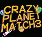 Hra - Crazy Planet Match 3