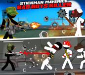 Hra - Stickman Maverick: Bad Boys Killer