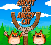 Hra - Shot the Angry Cat