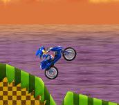 Hra - Sonic Motobike