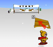 Hra - 3D Super Snowboarder