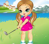 Little golf fan