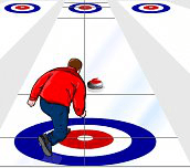 Hra - Virtual Curling