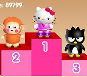 Hra - Hello Kitty závody na bruslích