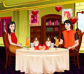 Hra - Romantic Dinner Decoration