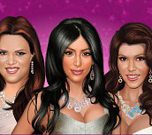 Kardashian Sisters Make-Up