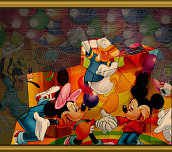 Hra - Puzzle mania Mickey Mouse