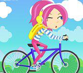 Hra - Dívka na kole