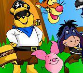 Hra - Medvídek Pú jde na karneval