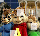 Alvin a Chipmunkové Puzzle