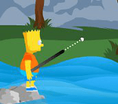 Hra - Bart Simpson Jumping