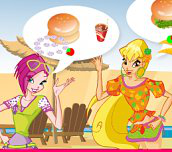 Hra - Winx Burger Shop