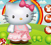 Hra - Hello Kitty oblíkačka