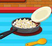 Domácí karamelový popkorn