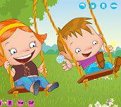 Hra - Děti na houpačce