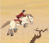 Hra - Běh po poušti
