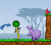 Hra - Krmení hrochů