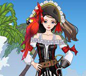 Hra - Pretty Pirate Perfect Dress Up