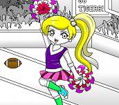 Pom Pom Cheerleader
