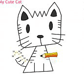 Hra - Draw My Cute Cat
