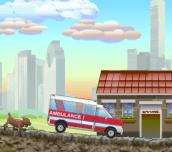 Hra - Ambulance Truck Driver 2