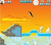 Hra - Crazy Penguin Catapult