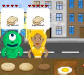 Hra - Burger Jam