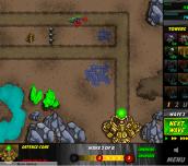 Hra - Swarm Defender