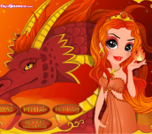 Elements Makeover Fire Princess