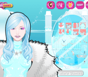 Ice Queen Make up game