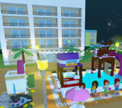 Hra - Lego Friends Pool Party