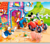Hra - Mickey Mouse Jigsaw Game